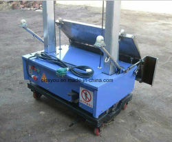 Automatique pour le plâtrage de mortier de ciment Mur de doublure de rendu de la machine
