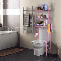 Ванная комната пространства Saver металлические постоянного туалет полка для хранения