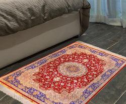 Seda personalizados tapetes e carpetes de piso para sala de estar (MH-S/C-H-2009132)