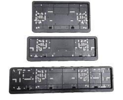 Placa de plástico y número de bastidor de soporte de la placa de matrícula & Car & Car bastidor bastidor licencia