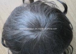 При размещении всех детей является наиболее естественным тонкой кожи из полимера человеческого волоса Toupees мужчин