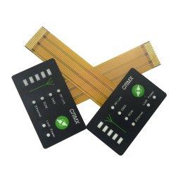 Небольшой размер шелк трафаретной печати DIY мембранный переключатель с FPC