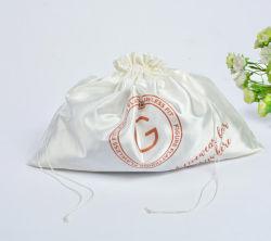 Cordón de satén satinado bolsas bolsa de regalo Velvet cordón de algodón Bolsas de regalos tejidos Personalizar Bolsa Drawstring