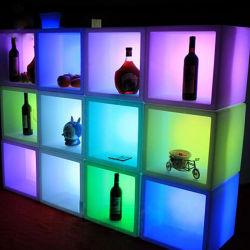 Venda por grosso de cubos de LED personalizados balde de gelo balde Champanhe Vinho Cerveja para venda