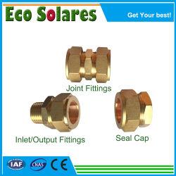Zonne-energie boiler Plastic Accessoires- Solar Vacuum Tube Holder Roestvast Stalen nippel/roestvrijstalen pijp/nippel