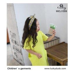 치마 의류 관례 100%년 면 아이들의 아이 옷