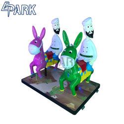 Детей для использования внутри помещений электрический дети до медали машина эксплуатируется детский парк аттракционов Horse Racing игры машины
