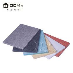 Alimentação de fábrica Non-Asbestos revestimento de paredes exteriores da placa na parede da placa de fibra de cimento