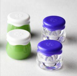 mini vaso di plastica cosmetico acrilico 10ml con il coperchio