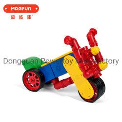 2020 Magnetic Building Block personalizados de plástico de bricolage artesanais brinquedos educativos