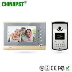 Wired Smart Villa téléphones de la porte d'Interphone vidéo sonnette (PST-VD07R-ID)