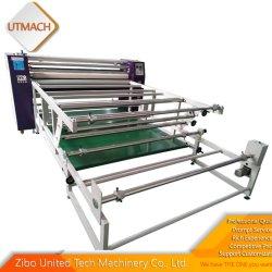 Transferir imagens impressas a partir de papel de sublimação de fabric Widness 1800mm com 270mm ouvir do rolo de transferência da máquina de impressão da impressora por sublimação de tinta