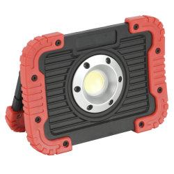 LED 일 빛, 10W 재충전용 검사 빛은, 휴대용 옥수수 속 플러드 또는 반점 빛, 일 사이트 점화, 비상사태 차 수선, 야영 하이킹을%s 방수 처리한다