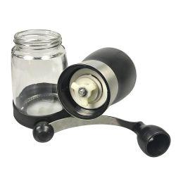 Высокое качество очистить стекло чашка, стеклянные кофейные чашки и форму диска с помощью ручки