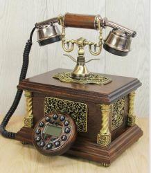 Telefónica clásica de madera para el Middle Market