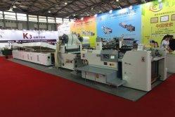 PET 시트 열을 위한 자동 Stop 실린더 화면 인쇄 기계 열 전달 라인
