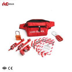 La sécurité personnelle sac banane électrique Kit d'outil de verrouillage