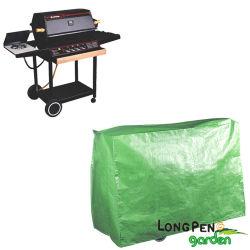 PE Super Grill Barbacoa cubierta, jardín cubierta impermeable