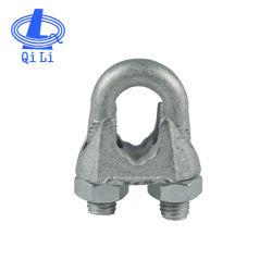 DIN741ステンレス鋼の可鍛性鋳造ワイヤーロープクリップ