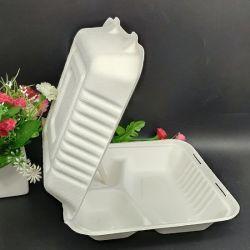 padellame amichevole biodegradabile concimabile della bagassa della polpa della canna da zucchero di 12disposable Eco