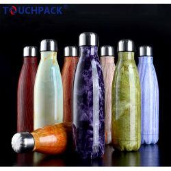 Kundenspezifische Förderung-doppel-wandige Edelstahl-Wasser-Flasche