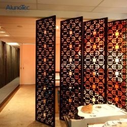 Creux de gros d'usine-out mur rideau en aluminium
