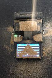 Shinho X-600 automatische FTTX/FTTH Schmelzverfahrens-Handfilmklebepresse für Faser-optische Netz-Projekte