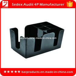 Accessoires de Bar Barre en plastique durable Caddy Lavable avec de multiples fonctions