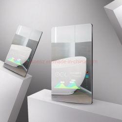 32 de Interactieve Magische Spiegel van de duim met LCD de Vertoning van de Reclame, Speler van de Advertentie van de Spiegel van het Scherm van de Aanraking de Slimme, Spiegel van de Make-up van het LEIDENE de Licht Aangestoken Bad van de Badkamers