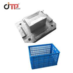 Nuevo diseño de moldes de cajas de cerveza de plástico Cesta Molde de plástico de logística de la caja molde de inyección de volumen de negocios