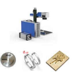 bewegliche Minifaser-Laser-Markierungs-Stich-Scherblockengraver-Laser-Ausschnitt-Maschine des metall3d für Firmenzeichen-Drucken auf Plastiklaser-Markierungs-Maschine