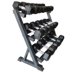 Apparatuur 3 van de Gymnastiek van de geschiktheid het Rek van de Opslag van de Domoor van het Rek van de Domoor van de Rij