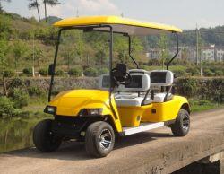 Ce006 Hot vender utilizado 4 plazas, coches y carros de golf eléctrico con CE, el nuevo diseño 6 Plazas carro de golf con CE
