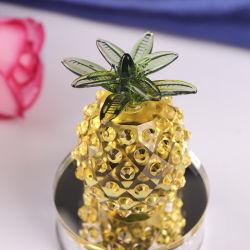 Verre en cristal élégant de l'Ananas Craft pour cadeau