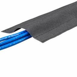 100mm Câble plancher Wrap manchon cordon de fil Hider couvercle/Bureau d'accueil de l'organiseur