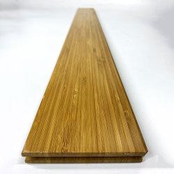 Vertikaler karbonisierter fester Bambusbodenbelag