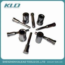 炭化物の押すために使用される高精度のカスタマイズされた部品は自動型のプラスチック旋盤の製粉の粉砕機および注入型の部品を投げることを打抜き型