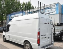 O DDS Alta Potência Veículo Multibanda Bomb 20-3000MHz sinal do telemóvel Jammer