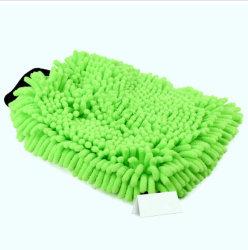 Gran durabilidad y paño de limpieza de chenilla lavar guante