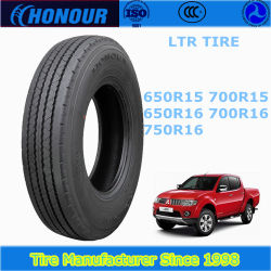 L'honneur de la Condor 700r15c pneu pour camion léger avec gcc ECE DOT