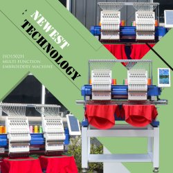 3 年間の品質保証 ! ! SWF 類似のオリジナル 2 ヘッド刺繍機械価格スペア Partsdaheo A15 機械システム