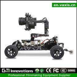 Vaxis 4 ruedas coche vídeo de la cámara Dolly mando a distancia de la cámara transmisor de radio de coche