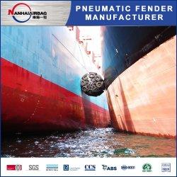 ISO 17357 Yokohama Tipo embarcación neumática Defensas de goma para Marina