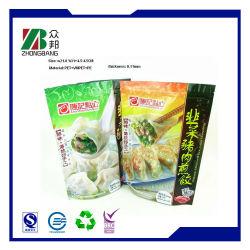 Zak van de Verpakking van het Voedsel van de Bol van China de Plastiek Bevroren