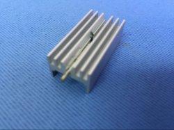 6061 6063 알루미늄 핀 튜브 라디에이터 맞춤형 돌출 방열판