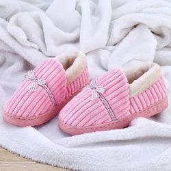 Schoen van de Pantoffel van het Huis van de Pluche van de Man van de Vrouw van de winter de Warme Binnen Dikke Enige