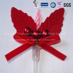 Fancy Pastel de Navidad vela decorativa