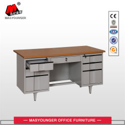 MDF Top Panel Metal Body Worker는 Office Desk를 사용합니다
