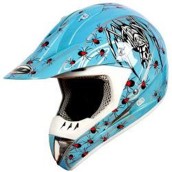 Casco di motocross - parti ed accessori del motociclo