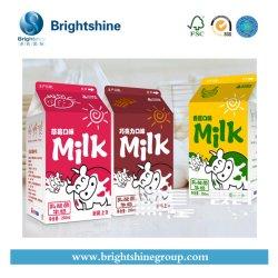 ミルクのための液体の食糧無菌薄板にされた包装のペーパー